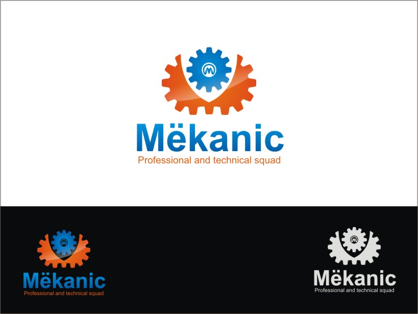 Logo Design by RED HORSE design studio - Entry No. 239 in the Logo Design Contest Creative Logo Design for MËKANIC - Professional and technical squad.