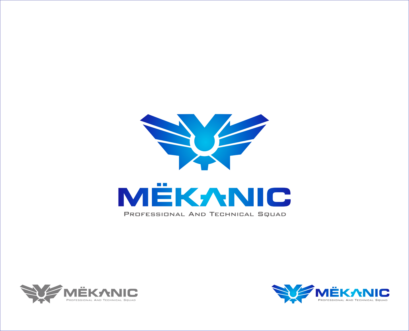 Logo Design by Armada Jamaluddin - Entry No. 240 in the Logo Design Contest Creative Logo Design for MËKANIC - Professional and technical squad.