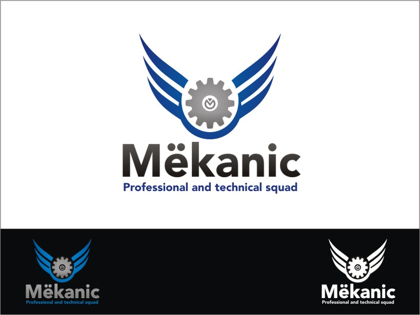 Logo Design by RED HORSE design studio - Entry No. 246 in the Logo Design Contest Creative Logo Design for MËKANIC - Professional and technical squad.