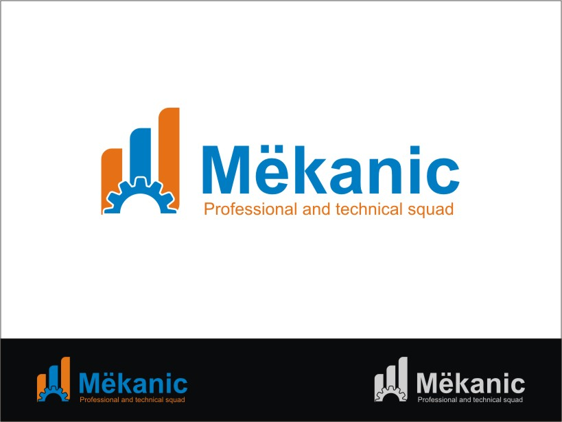 Logo Design by RED HORSE design studio - Entry No. 247 in the Logo Design Contest Creative Logo Design for MËKANIC - Professional and technical squad.
