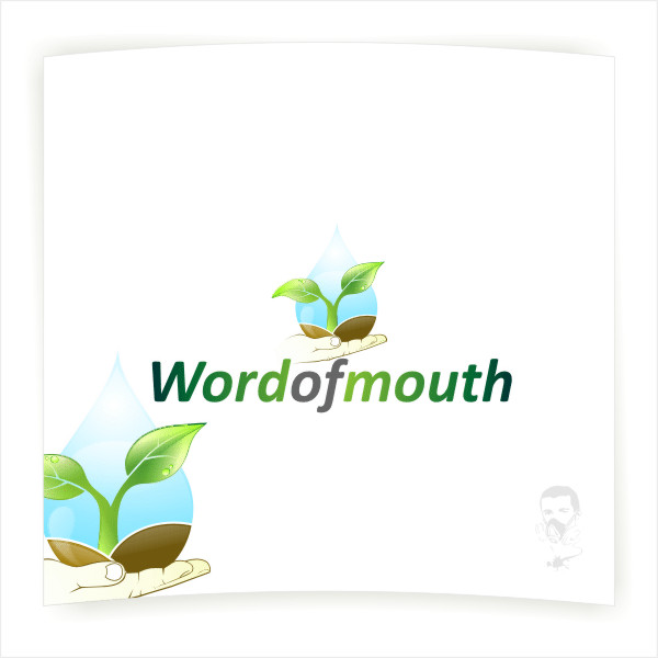 Logo Design by Private User - Entry No. 45 in the Logo Design Contest Word Of Mouth.