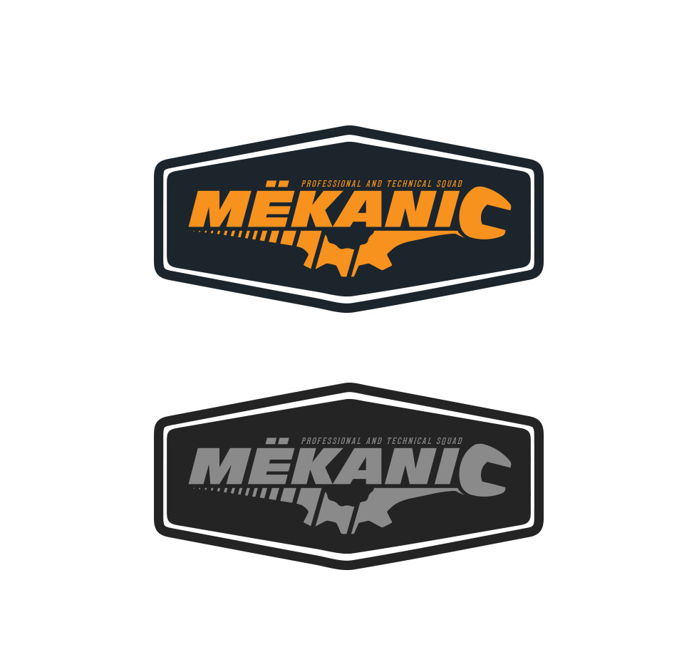 Logo Design by olii - Entry No. 248 in the Logo Design Contest Creative Logo Design for MËKANIC - Professional and technical squad.
