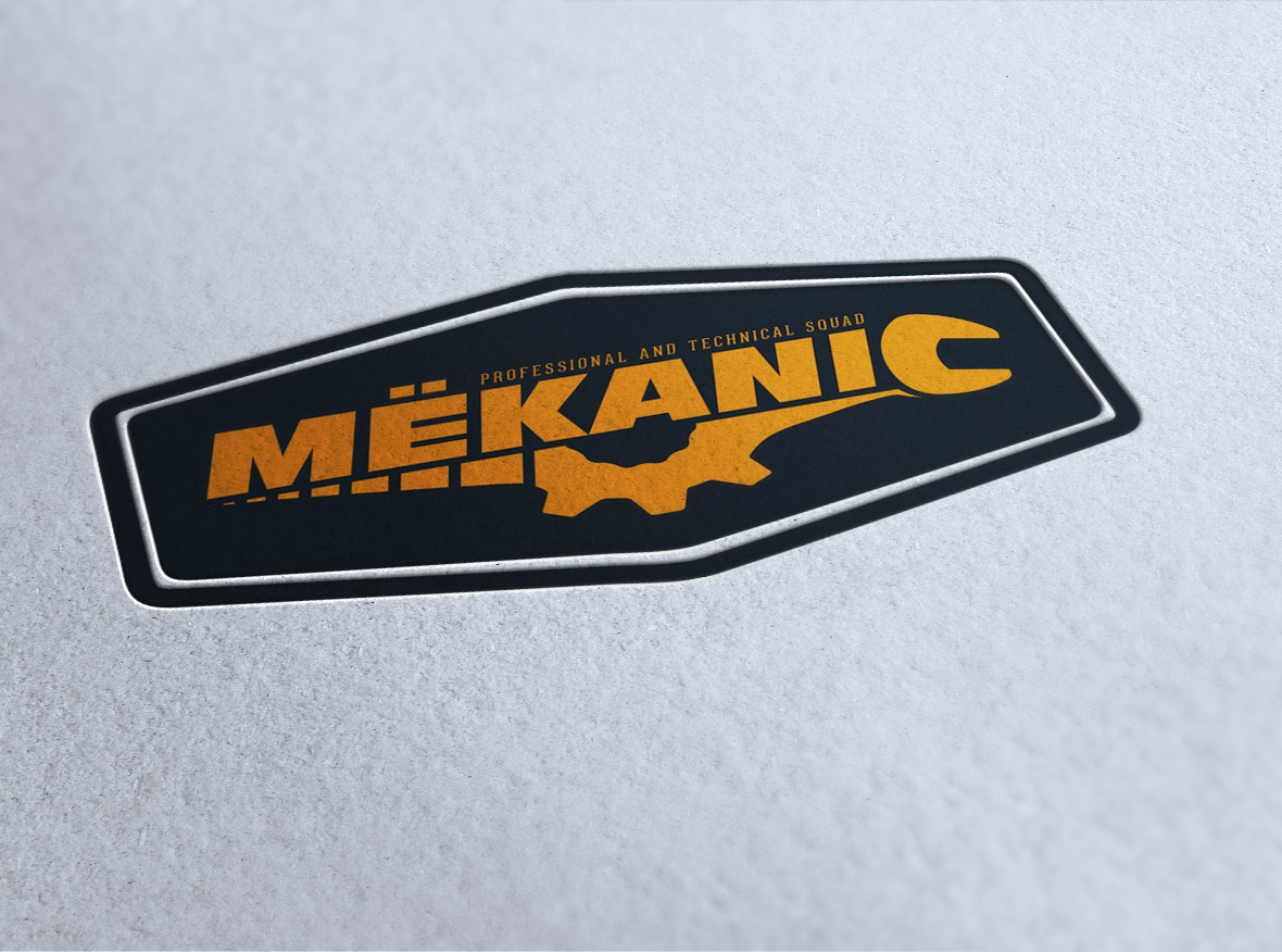 Logo Design by olii - Entry No. 250 in the Logo Design Contest Creative Logo Design for MËKANIC - Professional and technical squad.
