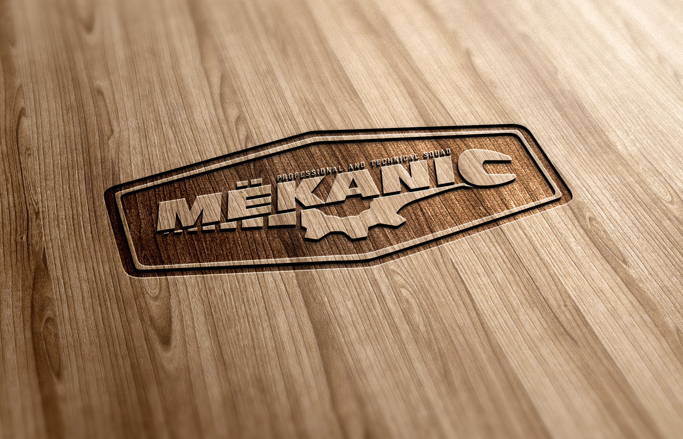 Logo Design by olii - Entry No. 251 in the Logo Design Contest Creative Logo Design for MËKANIC - Professional and technical squad.