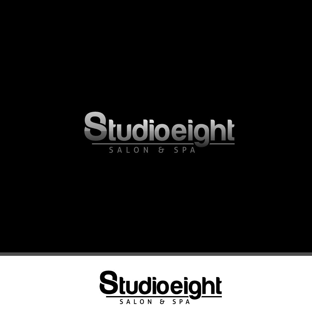 Logo Design by rockin - Entry No. 30 in the Logo Design Contest Captivating Logo Design for studio eight salon & spa.