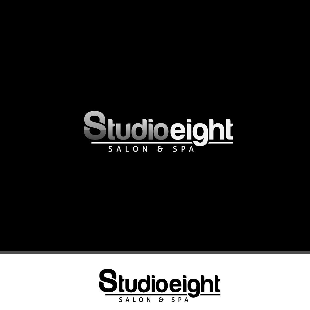 Logo Design by rockin - Entry No. 31 in the Logo Design Contest Captivating Logo Design for studio eight salon & spa.