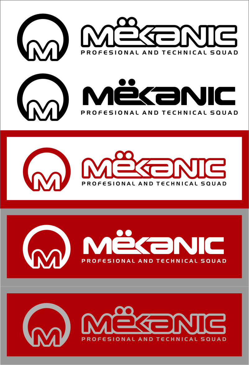 Logo Design by Ngepet_art - Entry No. 253 in the Logo Design Contest Creative Logo Design for MËKANIC - Professional and technical squad.
