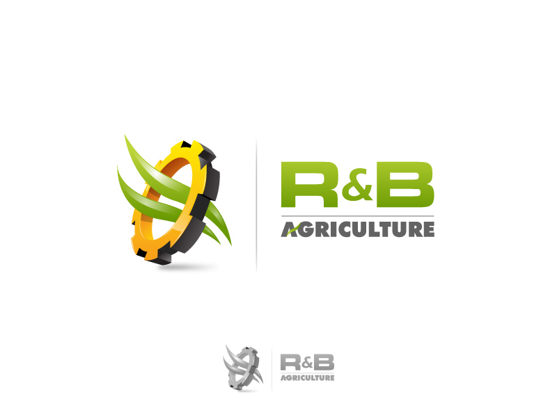 Logo Design by jpbituin - Entry No. 47 in the Logo Design Contest Captivating Logo Design for R & B Agriculture.