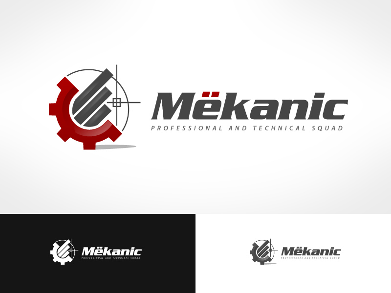 Logo Design by jpbituin - Entry No. 258 in the Logo Design Contest Creative Logo Design for MËKANIC - Professional and technical squad.