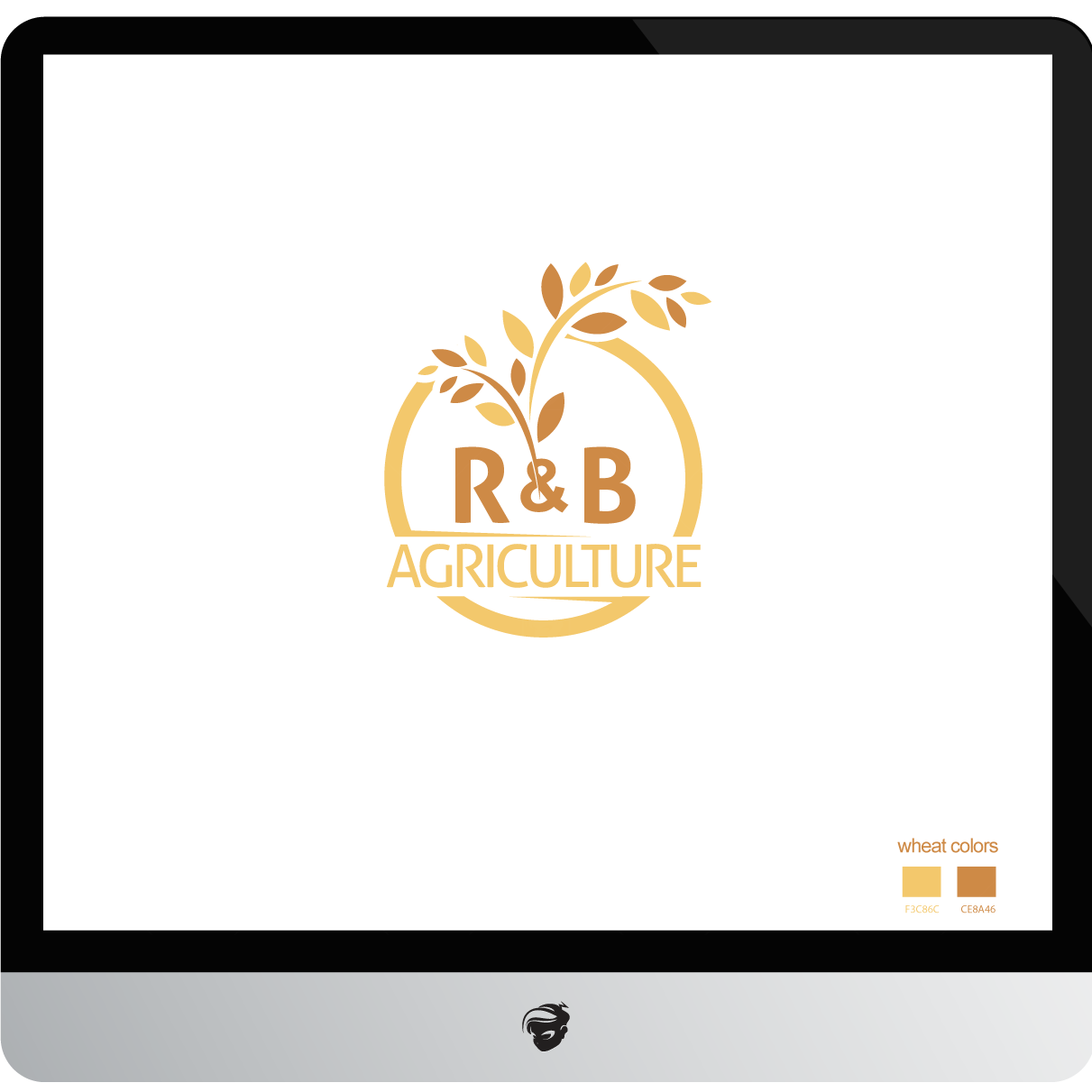 Logo Design by zesthar - Entry No. 49 in the Logo Design Contest Captivating Logo Design for R & B Agriculture.