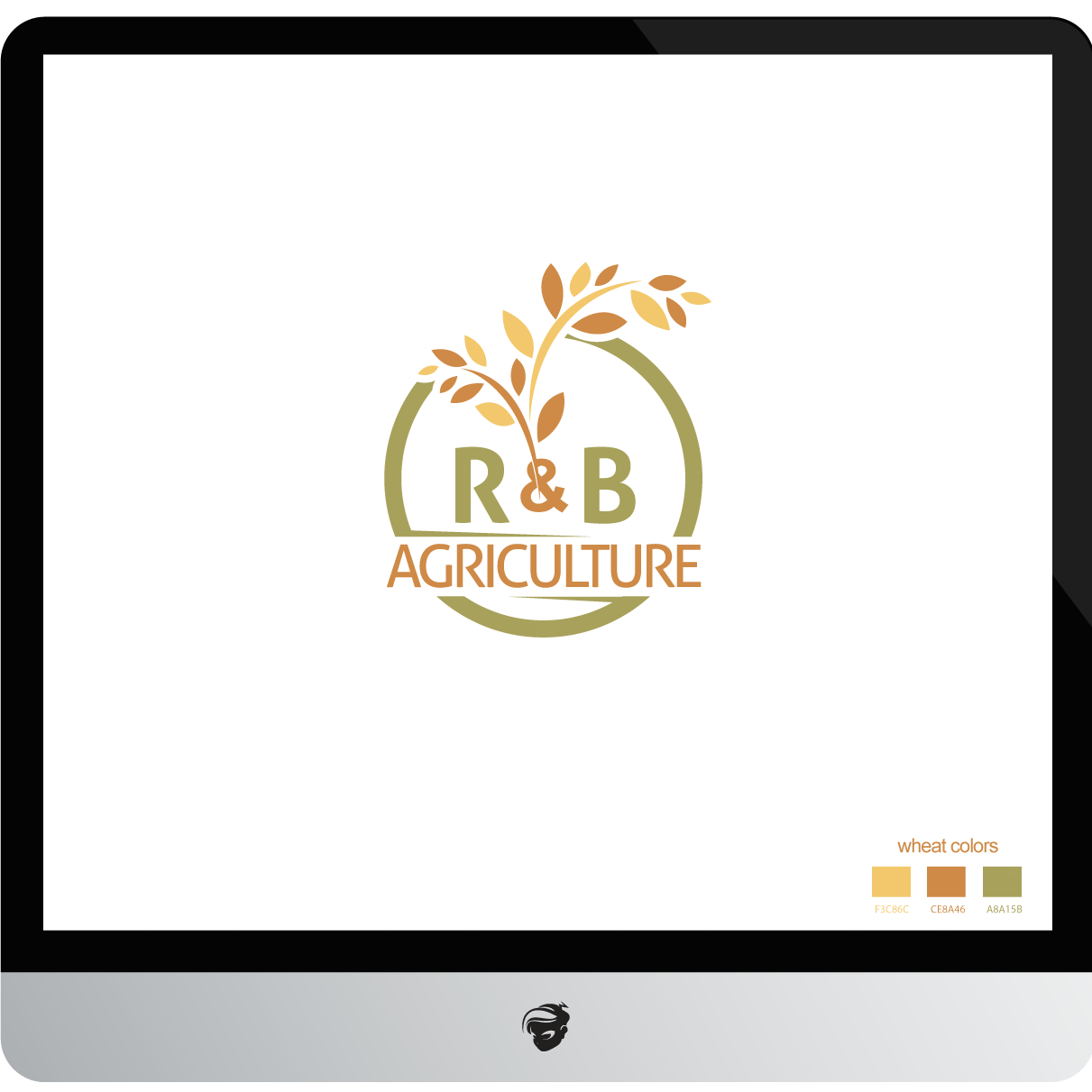 Logo Design by zesthar - Entry No. 50 in the Logo Design Contest Captivating Logo Design for R & B Agriculture.