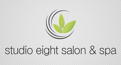 Logo Design by mediaproductionart - Entry No. 41 in the Logo Design Contest Captivating Logo Design for studio eight salon & spa.