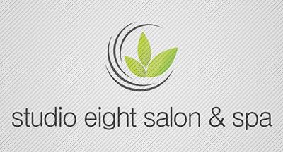 Logo Design by mediaproductionart - Entry No. 41 in the Logo Design Contest Captivating Logo Design for studio eight salon & spa.