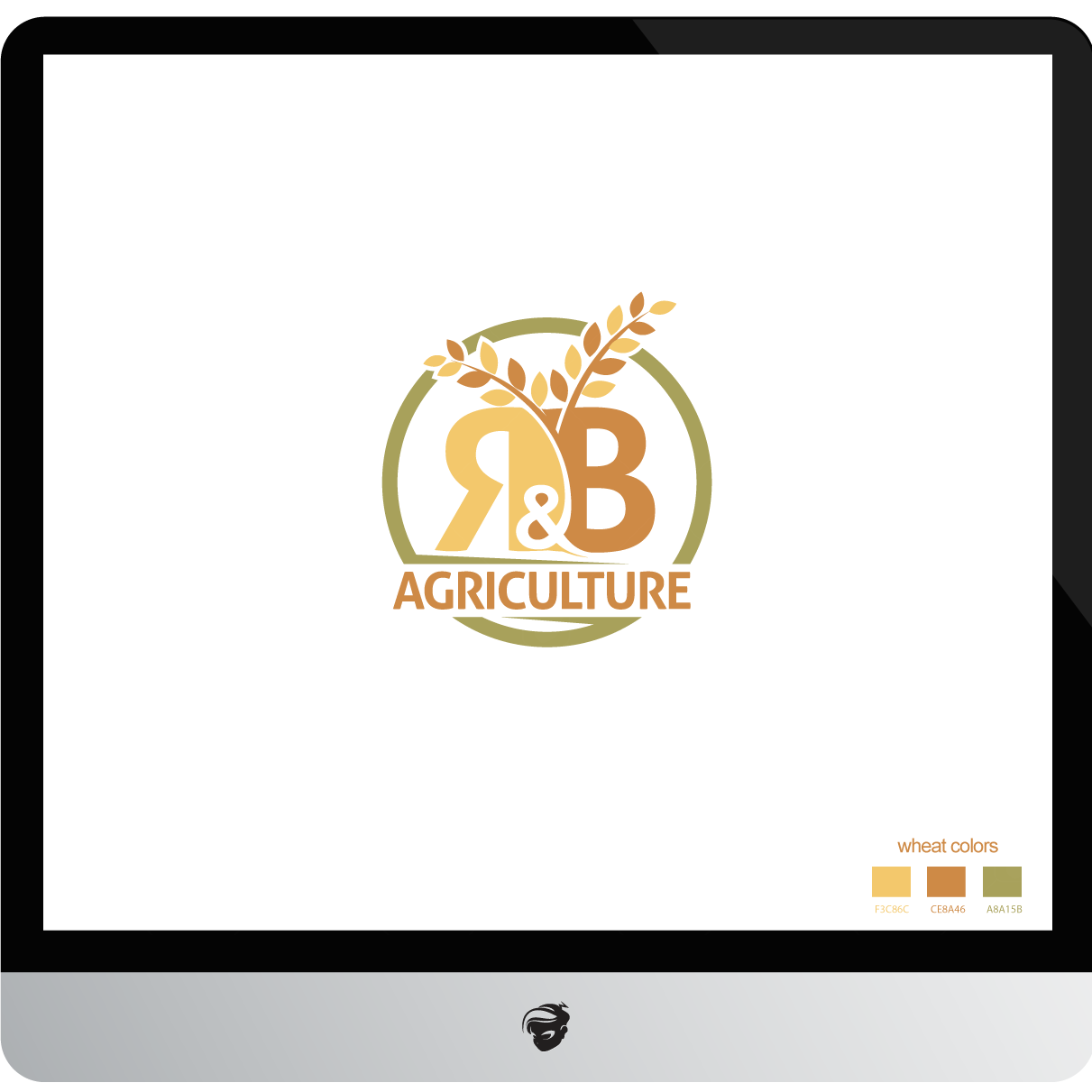 Logo Design by zesthar - Entry No. 54 in the Logo Design Contest Captivating Logo Design for R & B Agriculture.