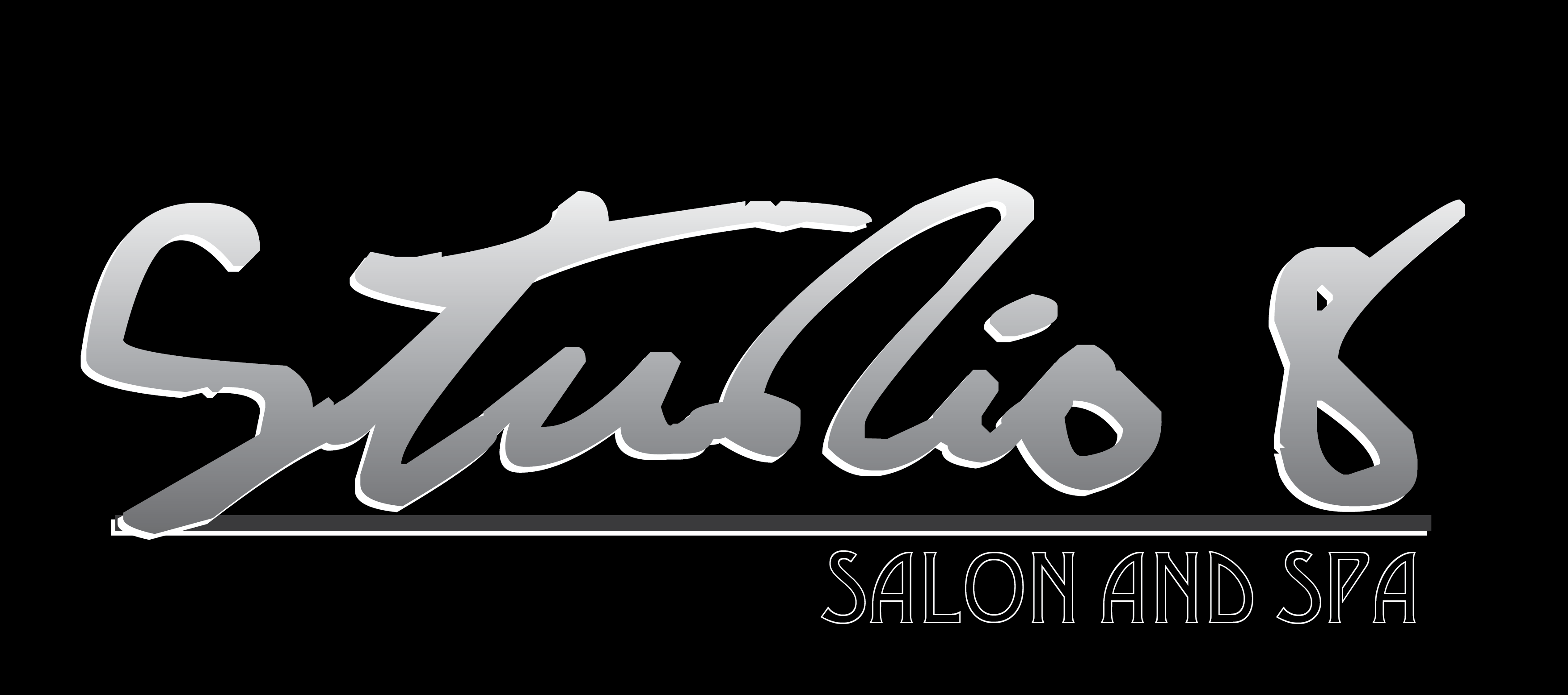 Logo Design by Alexan Torio - Entry No. 45 in the Logo Design Contest Captivating Logo Design for studio eight salon & spa.