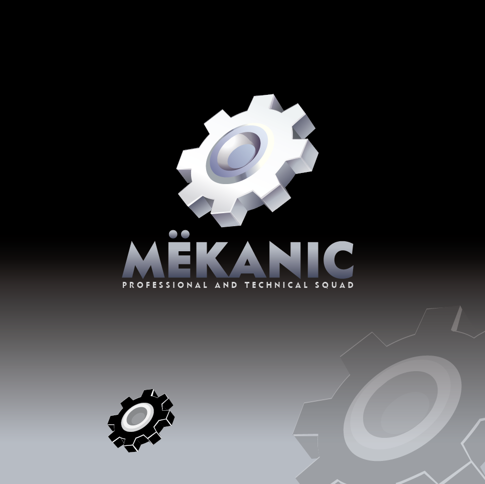 Logo Design by limix - Entry No. 261 in the Logo Design Contest Creative Logo Design for MËKANIC - Professional and technical squad.