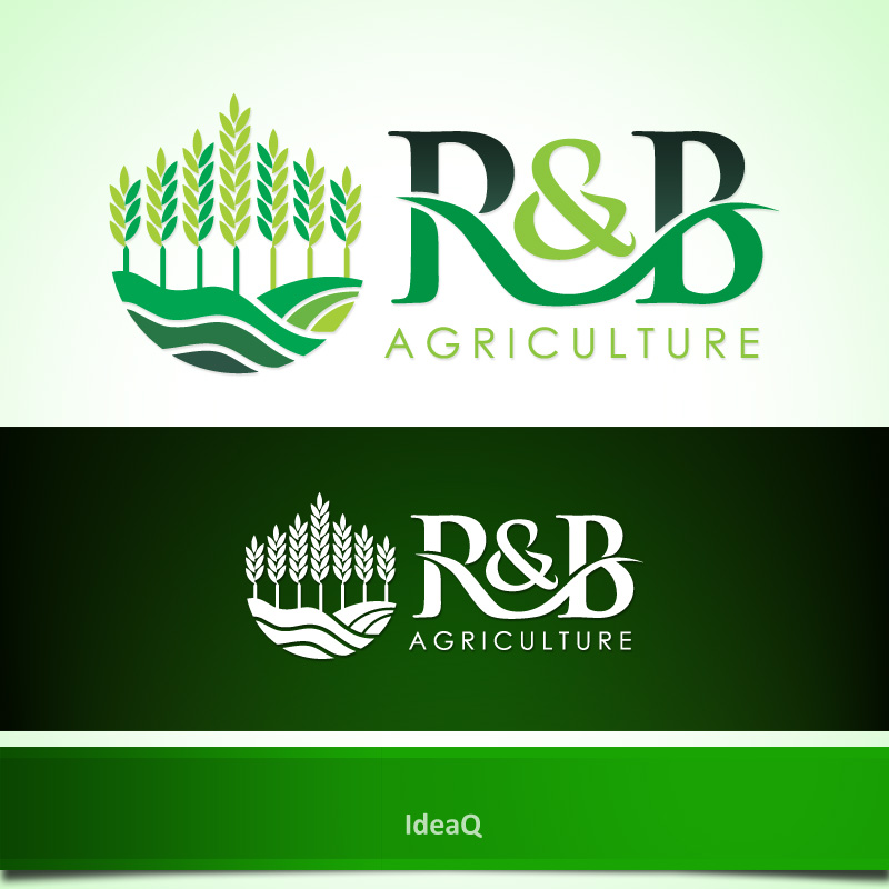 Logo Design by Private User - Entry No. 56 in the Logo Design Contest Captivating Logo Design for R & B Agriculture.
