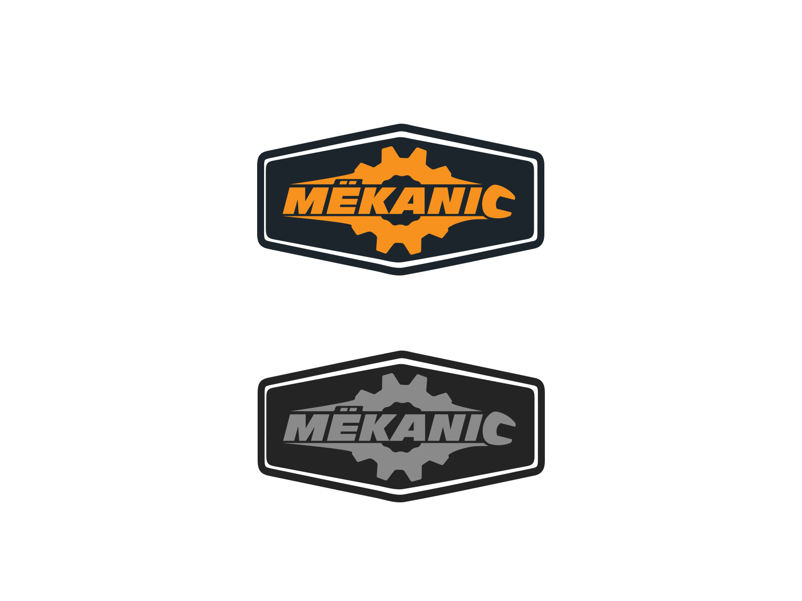 Logo Design by olii - Entry No. 265 in the Logo Design Contest Creative Logo Design for MËKANIC - Professional and technical squad.