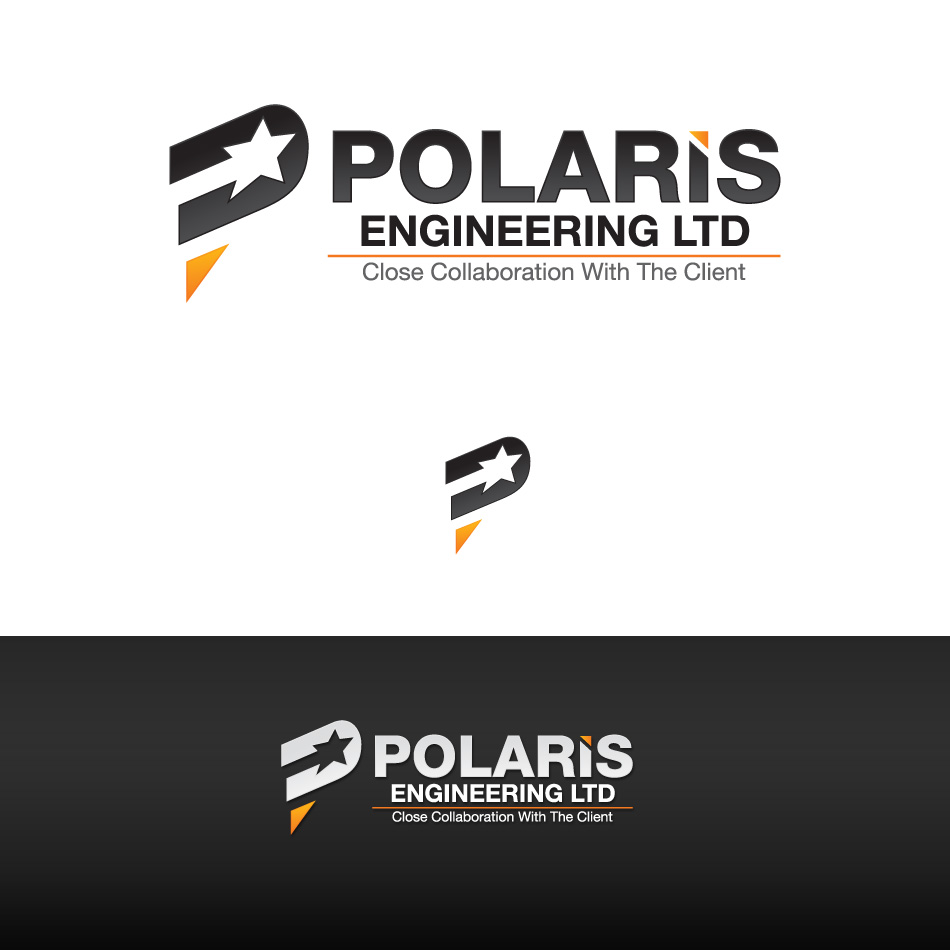 Logo Design by stevanga - Entry No. 92 in the Logo Design Contest Polaris Engineering Ltd.