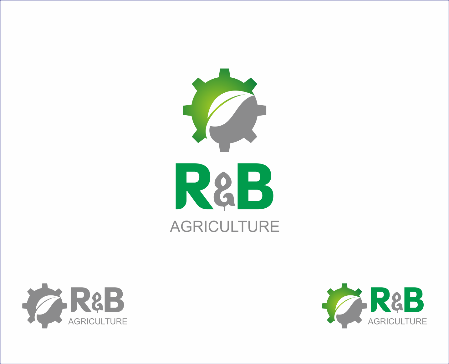 Logo Design by Armada Jamaluddin - Entry No. 60 in the Logo Design Contest Captivating Logo Design for R & B Agriculture.