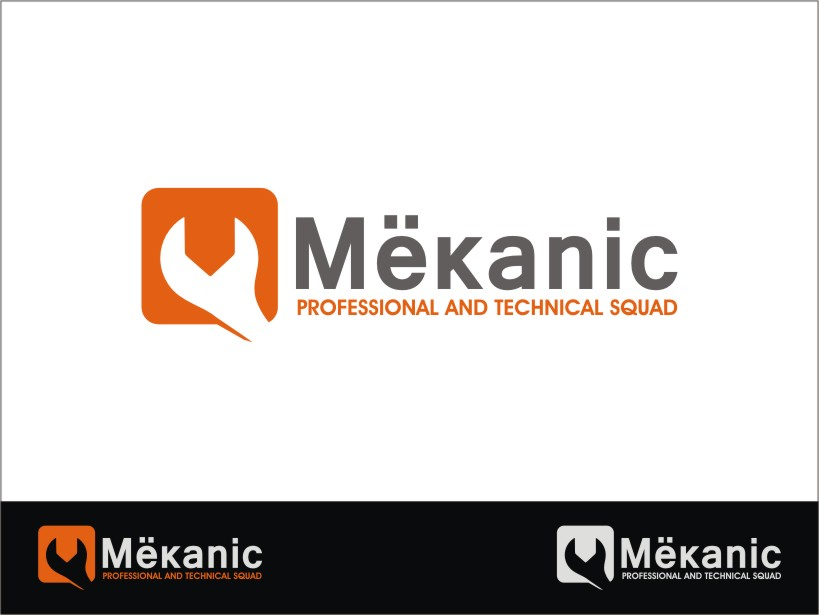 Logo Design by RED HORSE design studio - Entry No. 269 in the Logo Design Contest Creative Logo Design for MËKANIC - Professional and technical squad.