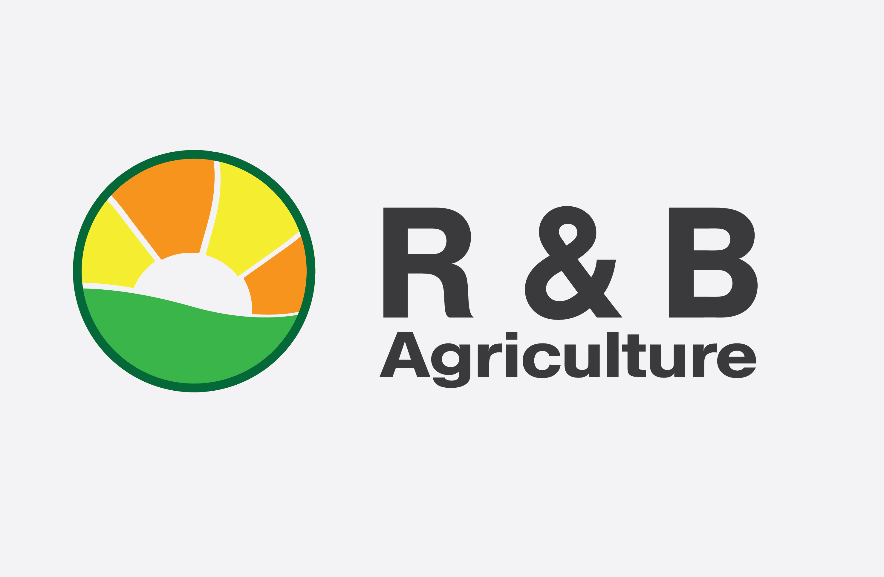 Logo Design by Aniketb - Entry No. 66 in the Logo Design Contest Captivating Logo Design for R & B Agriculture.