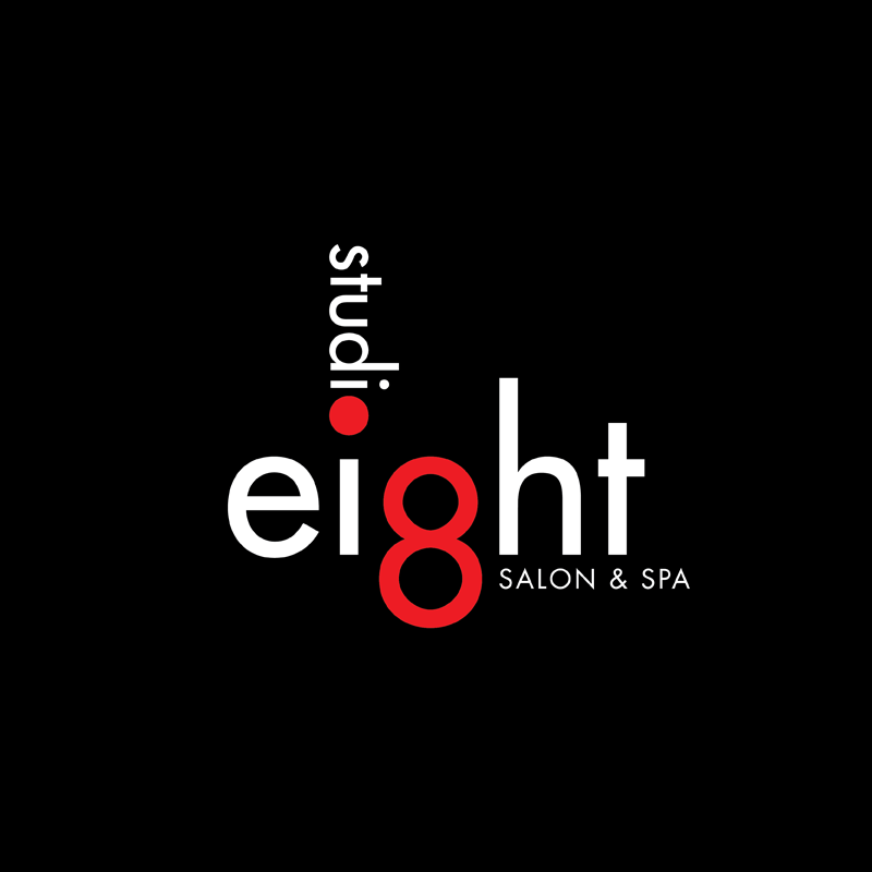 Logo Design by kianoke - Entry No. 49 in the Logo Design Contest Captivating Logo Design for studio eight salon & spa.