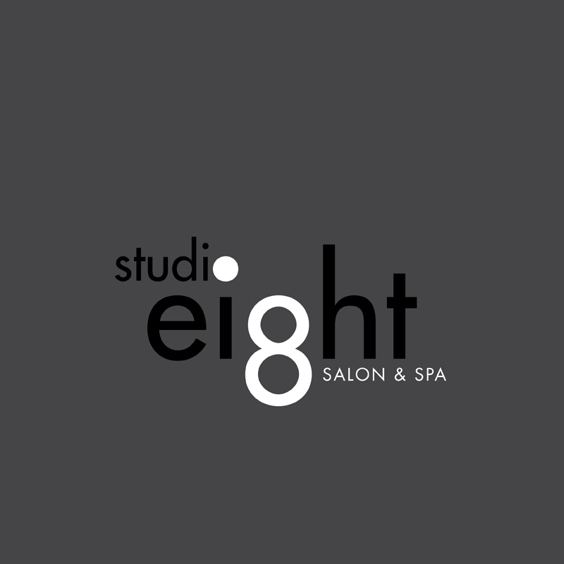 Logo Design by kianoke - Entry No. 50 in the Logo Design Contest Captivating Logo Design for studio eight salon & spa.