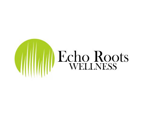 Logo Design by ronny - Entry No. 4 in the Logo Design Contest Funky Logo Design for Echo Roots Wellness.