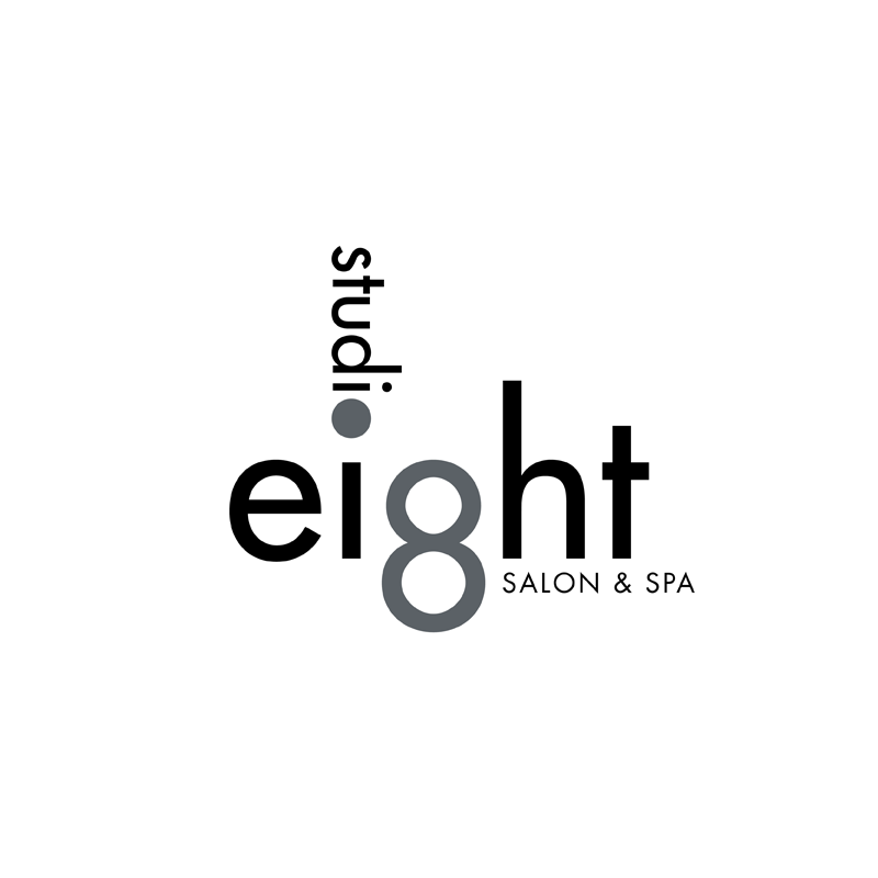 Logo Design by kianoke - Entry No. 53 in the Logo Design Contest Captivating Logo Design for studio eight salon & spa.