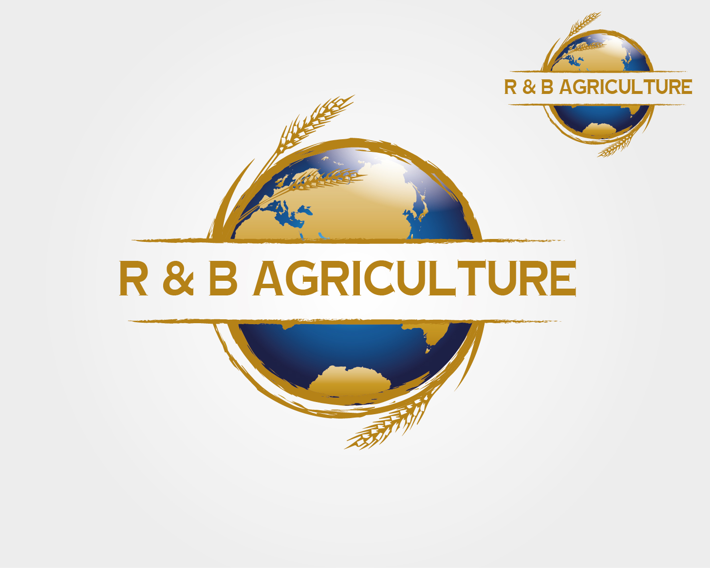 Logo Design by VENTSISLAV KOVACHEV - Entry No. 67 in the Logo Design Contest Captivating Logo Design for R & B Agriculture.