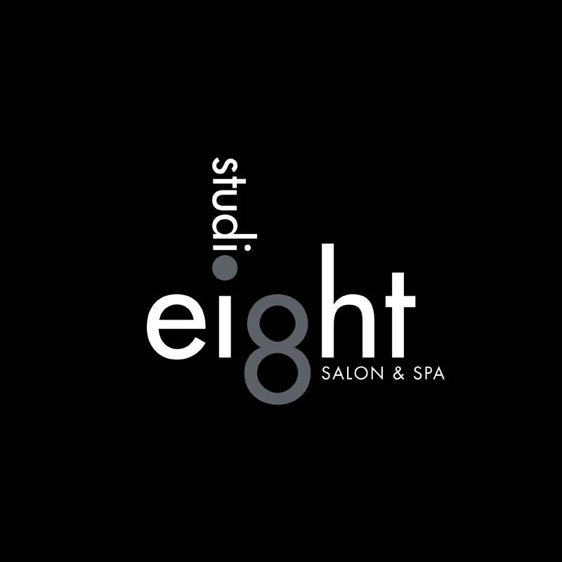Logo Design by kianoke - Entry No. 54 in the Logo Design Contest Captivating Logo Design for studio eight salon & spa.