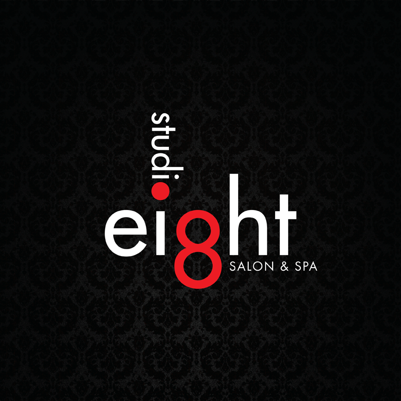 Logo Design by kianoke - Entry No. 55 in the Logo Design Contest Captivating Logo Design for studio eight salon & spa.