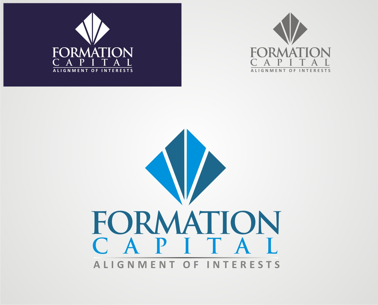 Logo Design by Reivan Ferdinan - Entry No. 92 in the Logo Design Contest Inspiring Logo Design for Formation Capital.