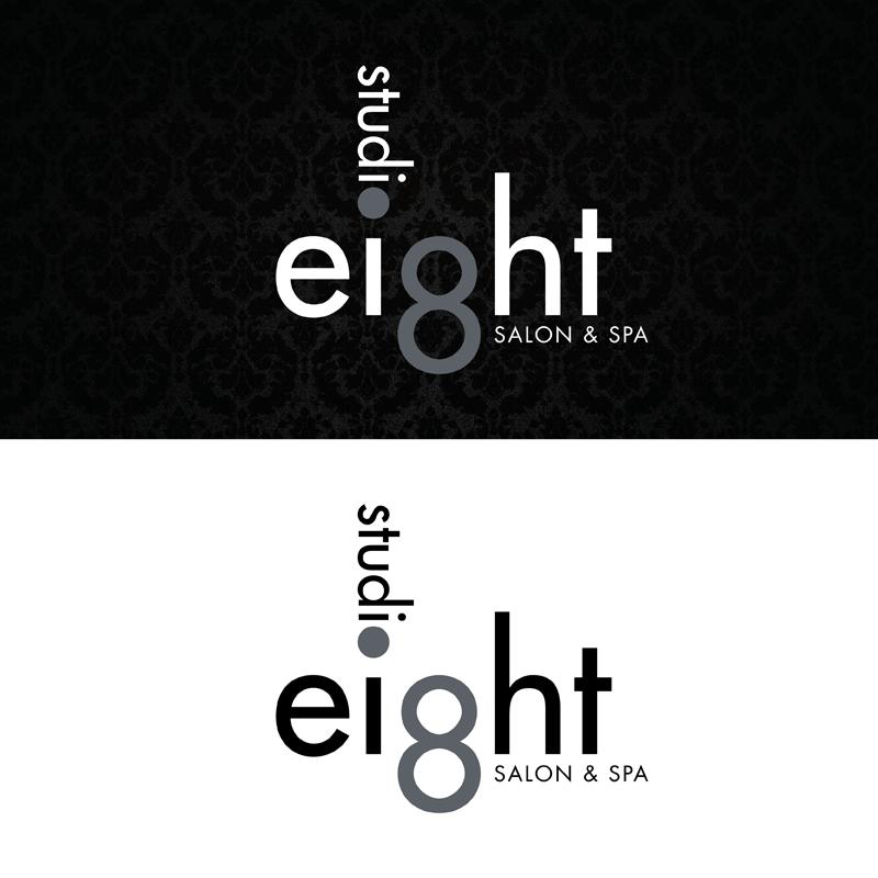 Logo Design by kianoke - Entry No. 57 in the Logo Design Contest Captivating Logo Design for studio eight salon & spa.