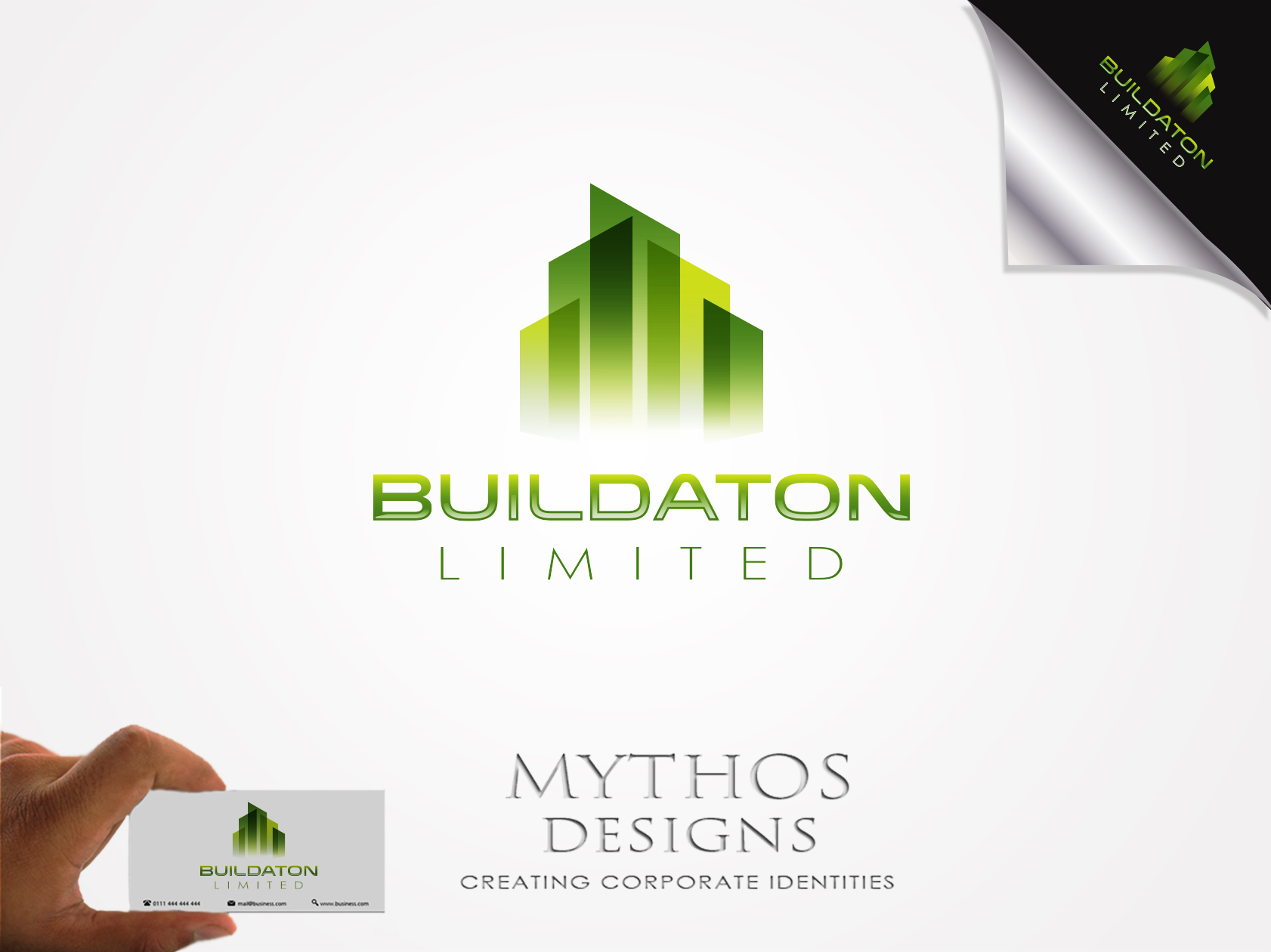 Logo Design by Mythos Designs - Entry No. 10 in the Logo Design Contest Artistic Logo Design for Buildaton Limited.
