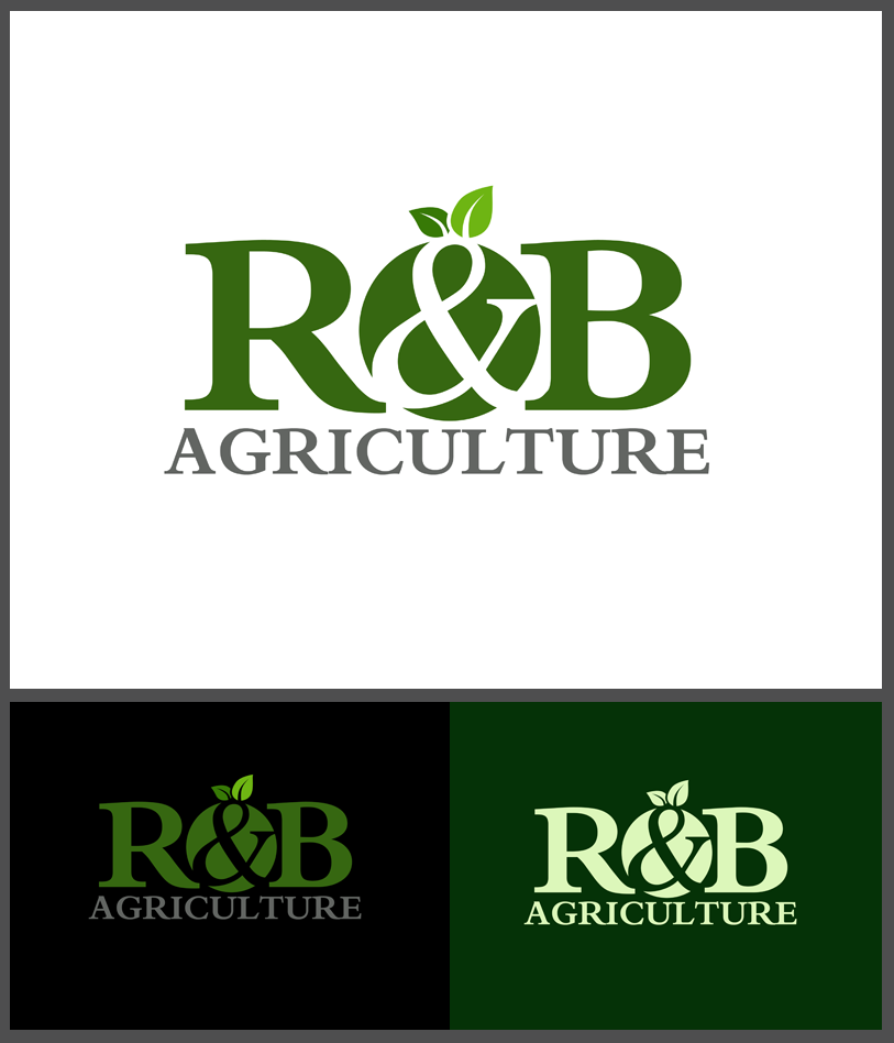Logo Design by Robert Turla - Entry No. 69 in the Logo Design Contest Captivating Logo Design for R & B Agriculture.