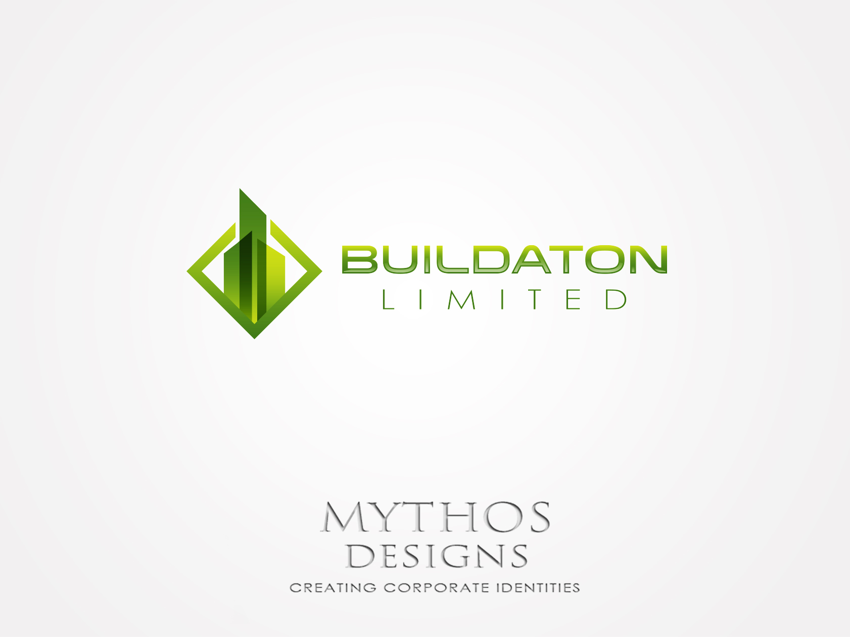 Logo Design by Mythos Designs - Entry No. 11 in the Logo Design Contest Artistic Logo Design for Buildaton Limited.
