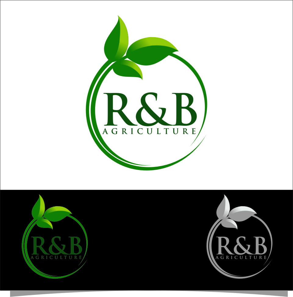 Logo Design by RasYa Muhammad Athaya - Entry No. 70 in the Logo Design Contest Captivating Logo Design for R & B Agriculture.