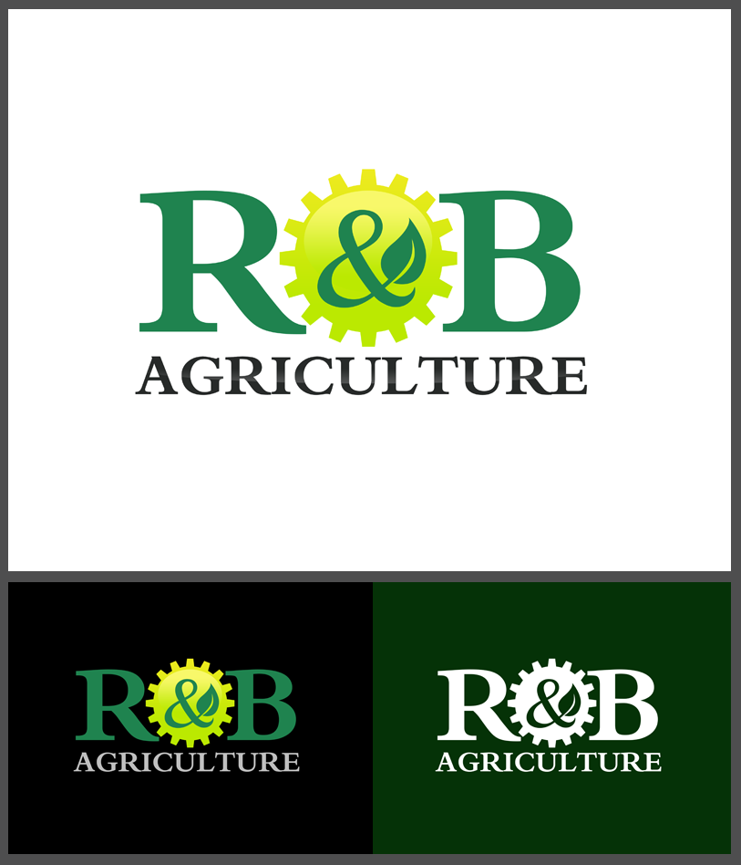 Logo Design by Robert Turla - Entry No. 71 in the Logo Design Contest Captivating Logo Design for R & B Agriculture.