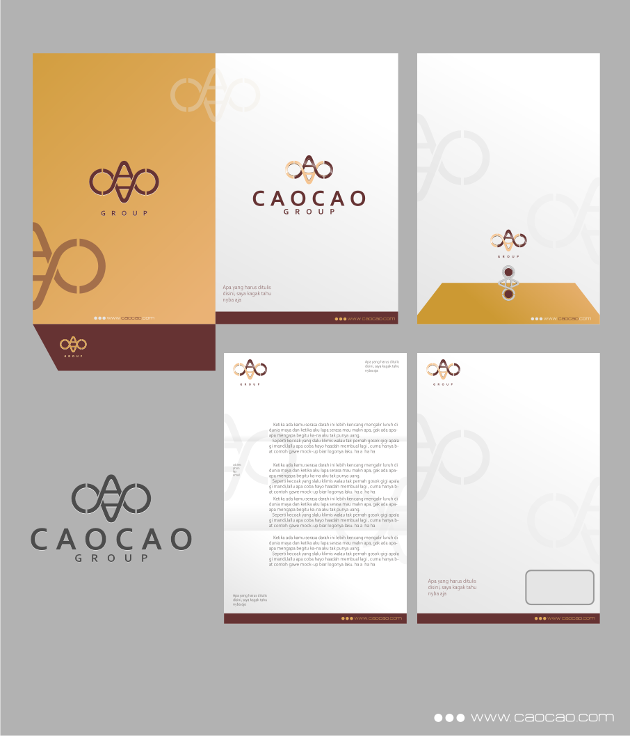 Logo Design by graphicleaf - Entry No. 288 in the Logo Design Contest cao cao group pty ltd Logo Design.