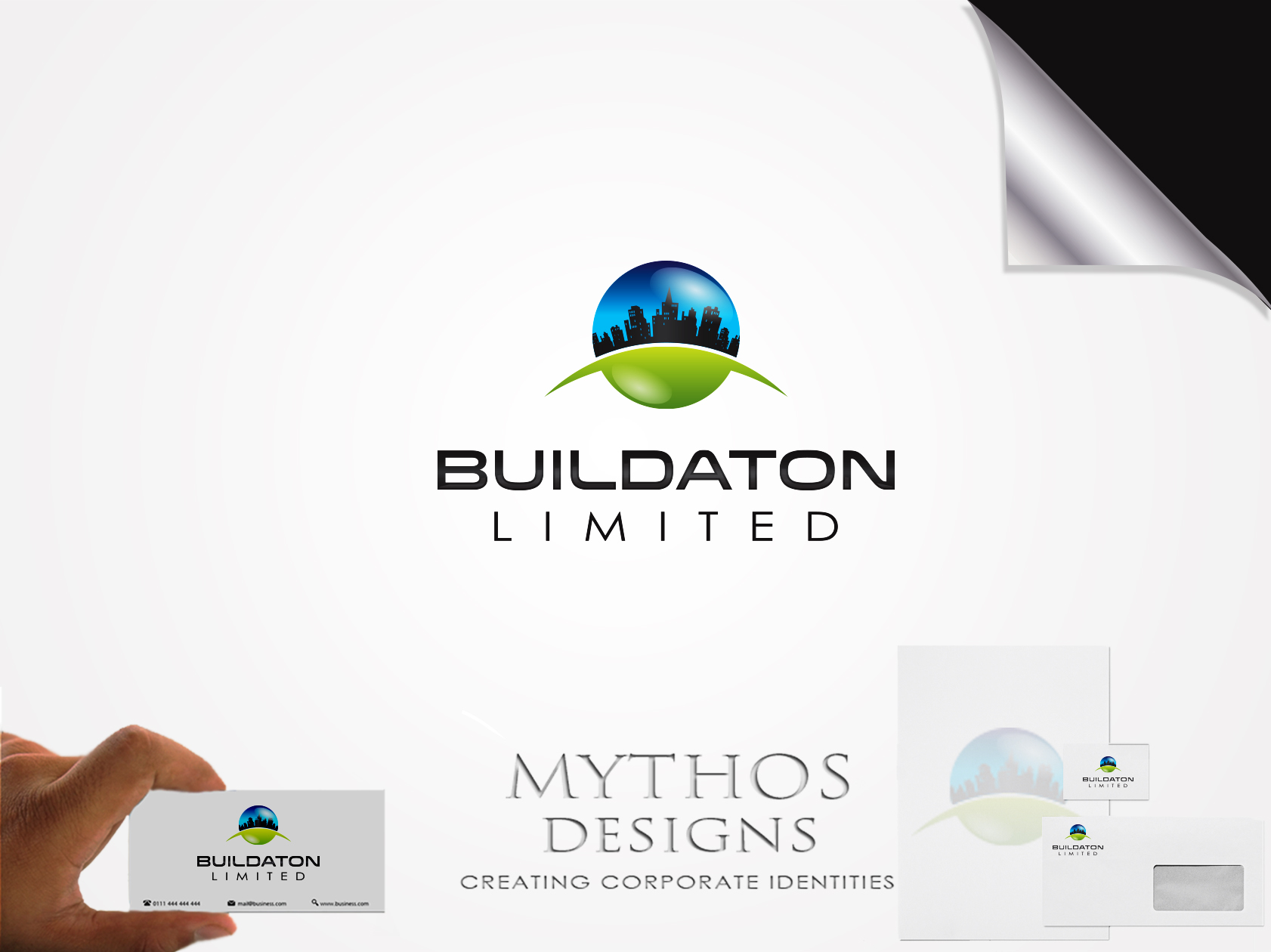 Logo Design by Mythos Designs - Entry No. 16 in the Logo Design Contest Artistic Logo Design for Buildaton Limited.