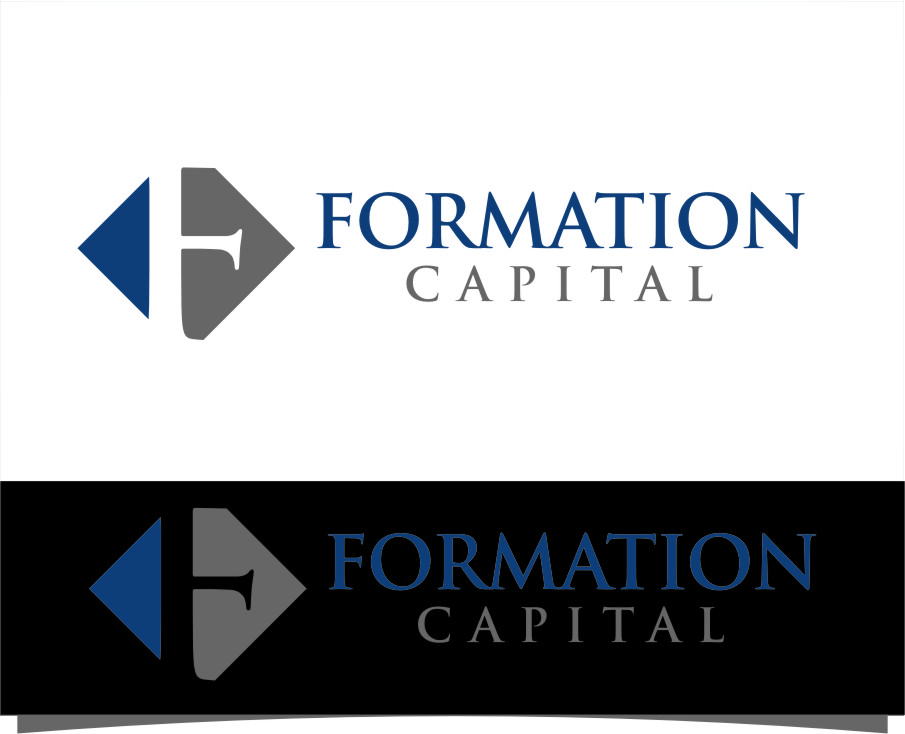 Logo Design by Ngepet_art - Entry No. 99 in the Logo Design Contest Inspiring Logo Design for Formation Capital.