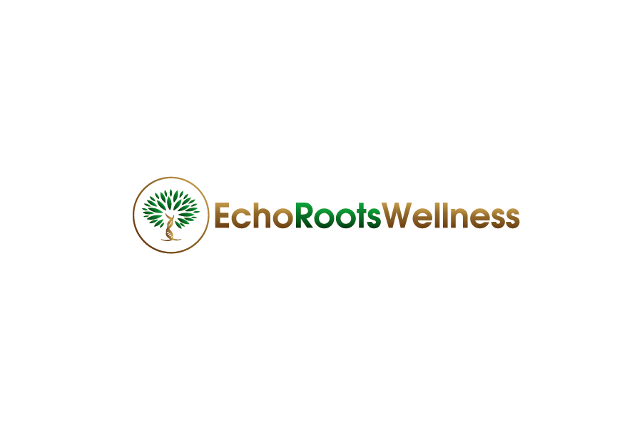 Logo Design by Private User - Entry No. 13 in the Logo Design Contest Funky Logo Design for Echo Roots Wellness.