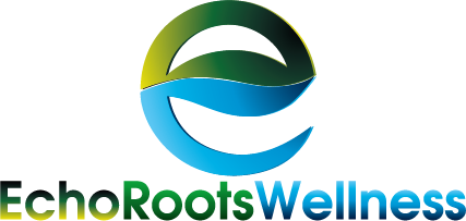 Logo Design by Private User - Entry No. 14 in the Logo Design Contest Funky Logo Design for Echo Roots Wellness.
