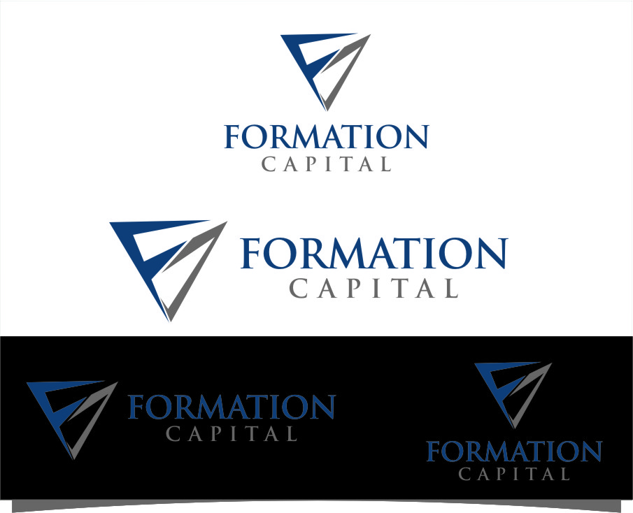 Logo Design by RasYa Muhammad Athaya - Entry No. 100 in the Logo Design Contest Inspiring Logo Design for Formation Capital.