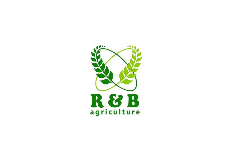 Logo Design by Respati Himawan - Entry No. 73 in the Logo Design Contest Captivating Logo Design for R & B Agriculture.