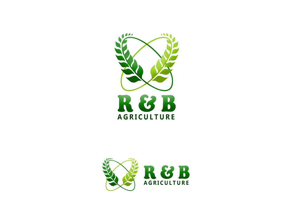 Logo Design by Respati Himawan - Entry No. 74 in the Logo Design Contest Captivating Logo Design for R & B Agriculture.