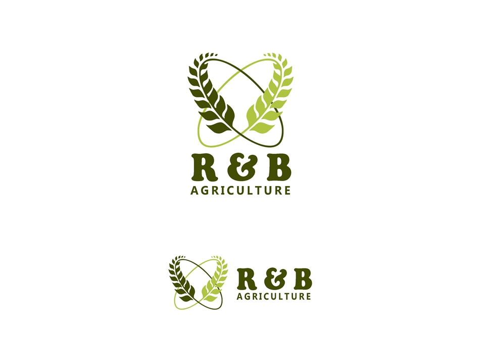 Logo Design by Respati Himawan - Entry No. 75 in the Logo Design Contest Captivating Logo Design for R & B Agriculture.
