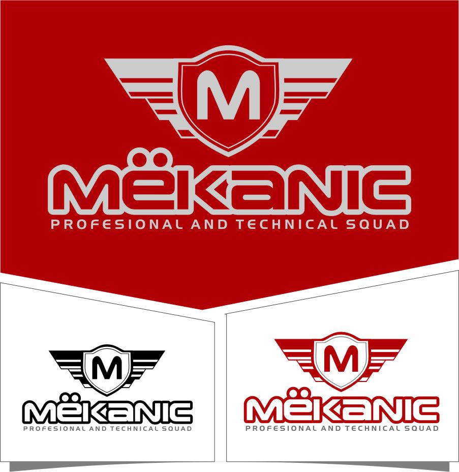 Logo Design by RasYa Muhammad Athaya - Entry No. 275 in the Logo Design Contest Creative Logo Design for MËKANIC - Professional and technical squad.